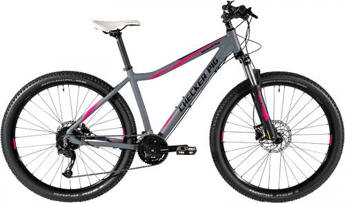 27,5 Zoll Damen Lady Mountainbike,  27-Gang Shimano Alivio + Lockout Gabel